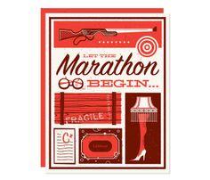 Let the Marathon Begin