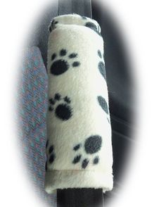 Cute paw print fleece seatbelt pads ideal for helping to prevent seatbelts rubbing on your neck.  Would make a fabulous gift for an animal lover.  Find now and matching accessories at http://ift.tt/1MdrObG  #seatbeltpads #pawprints #caraccessories #fleece #handmade #pets #cute #dogshows #shopify #wanelo #etsy #giftideas #truckaccessories #jeepaccessories #paws #carsofinstagram #modifiedgirls #seatbeltcovers #funky #carcovers #carshows #fun #cute #dogpaws #catpaws #animals #pets