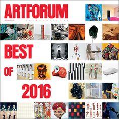 NEW ISSUE ARTFORUM DECEMBER 2016 PRINT ARRIVED 13.12.16