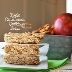Cinnamon Apple Bar Recipe