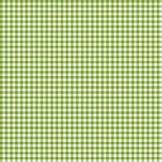 Leaf-Green_and_White_Eighth-inch Checks fabric by fireflower on Spoonflower - custom fabric