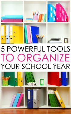 Make this school year the most successful for your kids. Here are 5 Powerful Tools to get your kids organized for a Back to School Routine that WORKS!