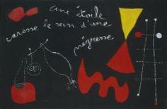 Joan Miró 'A Star Caresses the Breast of a Negress (Painting Poem)', 1938 © Succession Miro/ADAGP, Paris and DACS, London 2014
