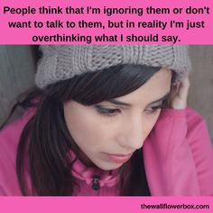 Any introverts overthink? I know I do... many times! Lol