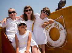 Nautical Weddings with Kids are playful and fun. for romance, relaxation, Climb aboard or an authentic experience aboard the yacht Sail Selina II, St Michaels MD