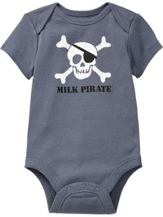 Old Navy   Humor-Graphic Bodysuits for Baby