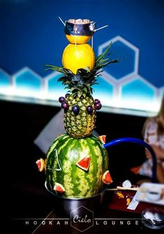 Awesome looking fruit hookah