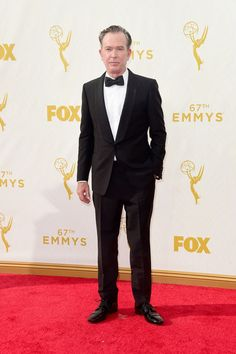 Actor Timothy Hutton attends the 67th Annual Primetime Emmy Awards at Microsoft Theater on September 20, 2015 in Los Angeles, California.