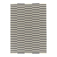 IKEA STOCKHOLM 2017 Rug, flatwoven Handmade/striped grey 250x350 cm Handwoven by skilled craftspeople, each one is unique. Made in India in organised...