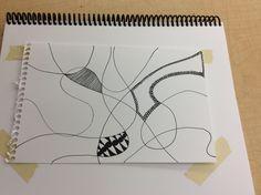 Zen Doodle WIP 1