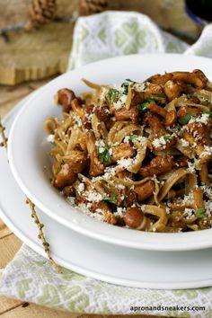 Truffle Taglietelle with Chanterelle Mushrooms
