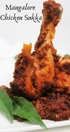 Mangalore Chicken fry recipe-Indian food recipes-Indian masala chicken-Healthy of July food Chicken Sukka is dry dish made with fresh ground spices. Mangalore Chciken Sukka is popular Chicken recipe.Mangalore cuisine has special Chicken recipes. Veg Recipes, Healthy Chicken Recipes, Curry Recipes, Indian Food Recipes, Cooking Recipes, Goan Recipes, Indian Foods, Indian Chicken Fry Recipe, Fried Chicken Recipes