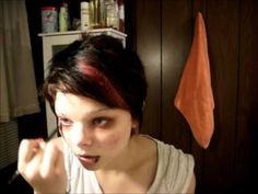 ▶ Grungy Heroin Chic Makeup - YouTube