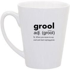 Mean Girls Grool coffee mug by perksofaurora on Etsy, $16.00