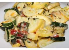 My Happily Ever After: Cheesy Zucchini Bake Recipe {and some Flip Flip vino}