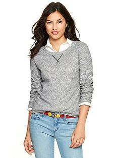 Marled sweatshirt | Gap - $34.95