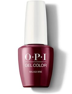 A rich, intoxicating wine-red gel nail polish. Purple Gel Nails, Interview Nails, Opi Gel Polish, Opi Red, Wine Nails, Long Lasting Nail Polish, Opi Colors, Gel Color