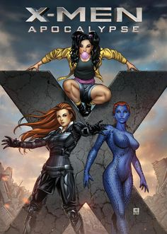 X-Men by Mike Krome