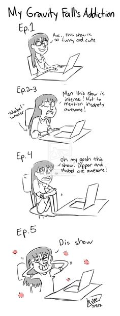 Los pasos al ser fanático de Gravity Falls