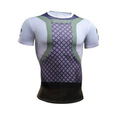 Naruto Armor Cosplay Fitness Men T-Shirts (10 Styles) d6a5d972eda