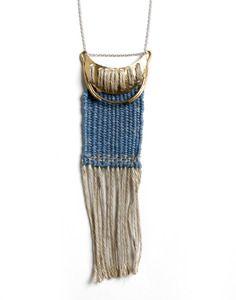 necklace, woven - erin considine