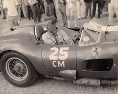 Old-style motor sports.    Gaston Andrey - Ferrari