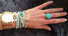 Bij dit zomerse weer horen vrolijke en zomerse sieraden :-) | bestel ze snel want dit zomerse setje mag niet ontbreken in jou sieraden collectie