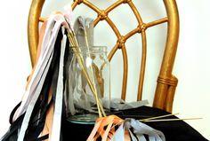 DIY Tissue Paper Fringe Wedding Wands1 550x371 Best of 2012: DIY Weddings