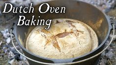 """This is the first video in a short series on baking in a """"Bake Kettle"""" or Dutch Oven. Today we experiment with getting this utensil to the correct temperatur..."""