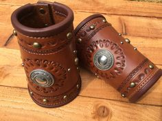 Cowboy cuffs by LondonJacks on Etsy