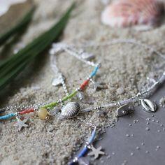 2032 Enkelbandjes beach life Biba blauw Beaded Bracelets, Jewelry, Wristlets, Jewellery Making, Pearl Bracelets, Jewelery, Jewlery, Jewels, Jewerly