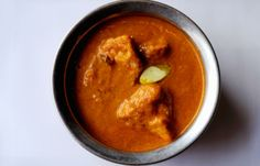 Chicken tikka is simmered in flavourful makhni sauce in Alfred Prasad's mouth-watering chicken tikka recipe. Marinate the chicken tikka early before starting