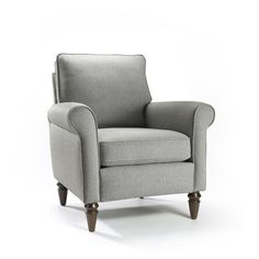 Hartley Perfect Gray Accent Chair