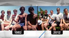 Five guys take same photo for 30 years - CNN.com