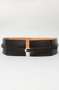 remi & reid The Afterthought Belt in Black: Karmaloop