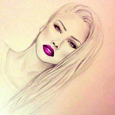 It's All About SWAG: Dope girl drawing
