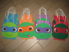 READY TO SHIP Ninja Turtle Bags by christinescritters on Etsy