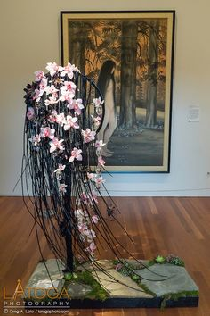 Nixon Tran installation from 2015 Bouquets to Art at the de Young Museum, San Francisco.