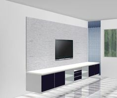 tv console feature wall - Google Search