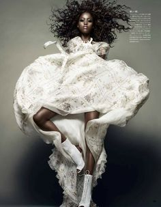 Nyasha Matonhodze by Sølve Sundsbø for Vogue Japan November 2011