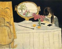 La leçon de peinture - (Henri Matisse)