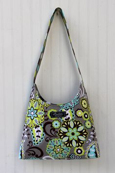Bailey Bag Harvest Bloom and Dot by ElisaLou on Etsy