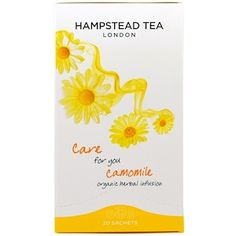 Hampstead Tea, Camomile, Organic Herbal Infusion, 20 Sachets, 0.88 oz (25 g) - iHerb.com
