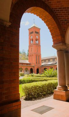 Where I was born - Marrianhill Monastery, Pinetown - Kwazulu-Natal - South Africa. Clifton Beach, Durban South Africa, Kwazulu Natal, Pretoria, Africa Travel, Beautiful Buildings, Countries Of The World, The Good Place, Places To Go
