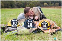 Dana and Shane – Jerusalem Mill Engagement Session Firefighter Engagement Pictures, Firefighter Family, Engagement Couple, Engagement Session, Wedding Engagement, Country Engagement, Engagement Ideas, Engagements, Fireman Wedding
