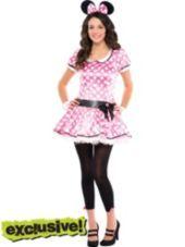 Minnie mouse costume, Francesca's for Disneyland...looks soo cute!
