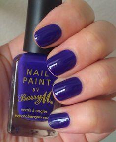 Cobalt Color.. Barry M Indigo