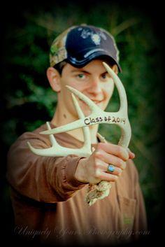 Senior, boy, hunting, deer hunting, senior boy
