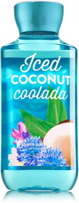 Iced Coconut Coolada Shower Gel - Signature Collection - Bath & Body Works