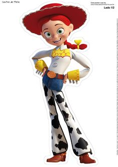 Toy Story 3, Jessie Toy Story, Toy Story Theme, Toy Story Party, Woody Birthday, Toy Story Birthday, Cowboy Birthday, Fantasias Toy Story, Bolos Toy Story